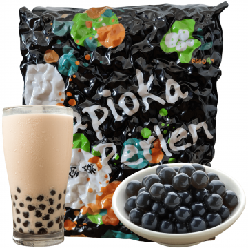 Tapioka CZARNA do Bubble Tea PEREŁKI Z TAJWANU 3KG