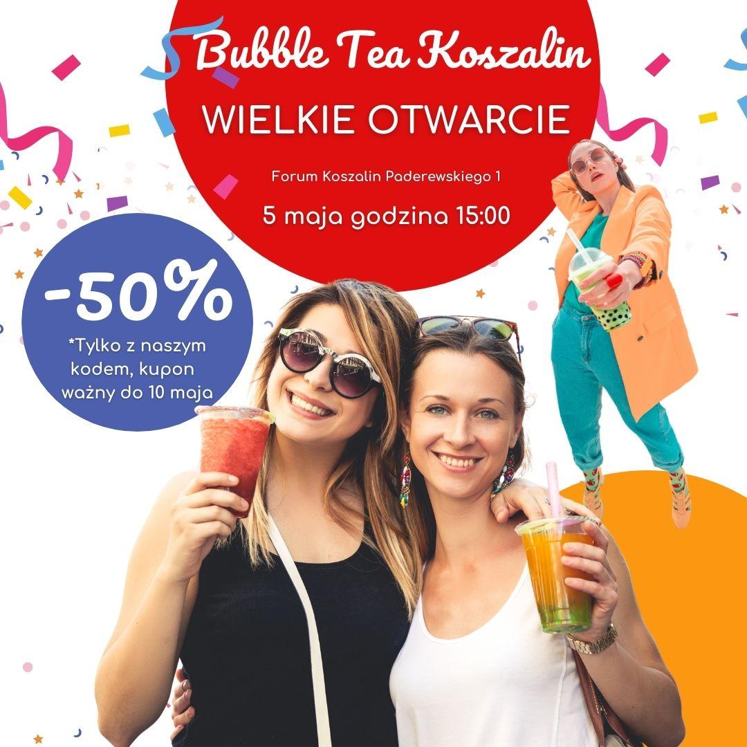 Buuble tea koszalin wielkie otwarice galeria Forum paderewskiego 1_2.jpg