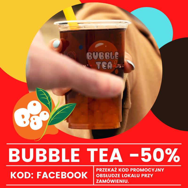 Kupon Rabatowy Bubble Tea - lokal Bydgoszcz